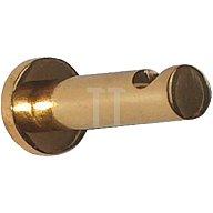 Garderobenhaken Ausladung 50mm D. 12mm Ms. matt nickel