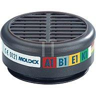 Gasfilter 8900 ABEK1 max.0,1Vol.% b.30xAGW-Wert MOLDEX EN1438:2004+A1:2008