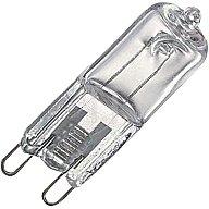 mlight Halogen-Energiesparlampe 28W 230V G9 Sockel 370lm dimmbar 125645