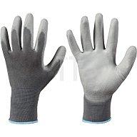 Feldtmann Handschuh EN 388 Kat.II Touch Shenzhen, Nr. 0715, Gr.9, PU, Touch Screen, grau 0715 GR.9