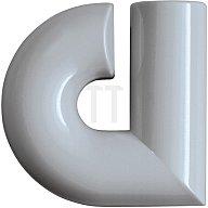 HEWI Hausnummer Kleinbuchstabe a Polyamid D.33mm tiefschwarz 702.165.A 90