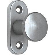 edi Hebetürknopf Durchmesser 35mm Alu F2 Befestigungsabstand 43mm 6041000002