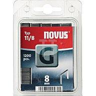 STEINEL Leuchten Heftklammer Typ 11 L.8xB.10,6mm f.J-19EHG/J-031G NOVUS verz. 042-0385