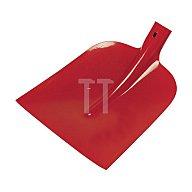 IDEALSPATEN Holsteiner Schaufel DIAMANT-PIONIER, Größe 0, 3/4 gehoben, rot pulverbeschichtet 51040120