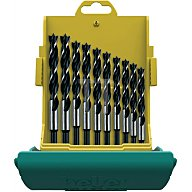 Heller Tools Holzspiralbohrersatz 10-teilig, 3,4,5,6,7,8,9,10,11,12mm 24646
