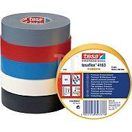 Isolierband 4163 Länge 33m Breite 19mm schwarz Weich-PVC-Folie tesa 04163-00000-07