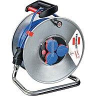 Brennenstuhl Kabeltrommel 50m N05V3V3-F3G1,5mm2 3fach Steckdose/Thermostat IP44Garant S290 1198590