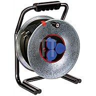Brennenstuhl Kabeltrommel Blech L.40m 3xSchuko H07RN-F 3x1,5mm2 BRSTUHL m.Thermoschutz 1314400