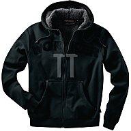 Kapuzenjacke Workwear Gr.XXL schwarz 100 % Baumwolle
