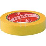 Kip 308 FineLine-tape Washi gelb L.50m B. 38mm