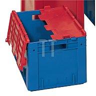 LA-KA-PE Klappdeckel inkl. Scharniere blau L.600xB.400mm 4St./VE VTK600D BLAU