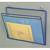 Tarifold Klarsichthängetasche B.340xH.255mm rot/gelb/grün/blau/sw m.2Metallösen 340009