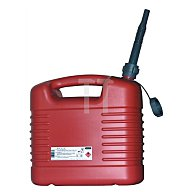 Kraftstoffkanister 20l rot HDPE PRESSOL m.Auslaufrohr 21137