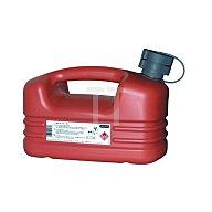 Kraftstoffkanister 5l rot HDPE . PRESSOL m.Auslaufrohr