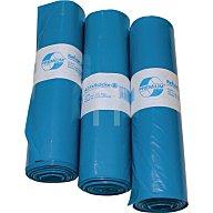 Deiss Kunststoffsack 120l Typ 60 hellblau 700x1100mm gerollt 250St./VE 10075