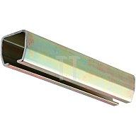Woelm Laufschiene 500 Profil-B.65mm Profil-H.60mm 1x6m galvanisch verzinkt 50020