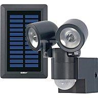 Gutkes LED-Leuchte LPL 858/130Grad Solar B112xH144xT70mm schwarz