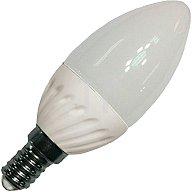 mlight LED-Leuchtmittel 4W 230V warm weiss E14 Kerze 320lm nicht dimmbar 2900K 2646914