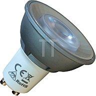 mlight LED-Leuchtmittel 5,5W 230V warm weiss GU10 Reflektorform 345lm nicht dimmbar 2676499
