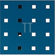 Lochplatte L.495xB.457mm enzianblau RAL 5010 Bott 14025115.11