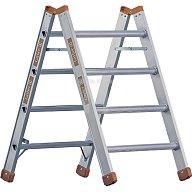 Layher Mehrzweckbock Alu 4 Stufen einseitig begehbar Stand-H.980mm 1047704