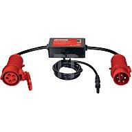 Messadapter 16 A CEE 5-polig aktiv f.freiphasige Verbraucher Rpe/Ipe Benning 44140