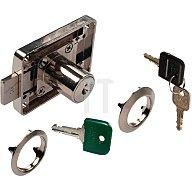 Möbel-Kastenschloss System 600 gleichschließend DIN L / R / lad Stahl vernickelt