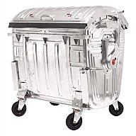 SULO Müllgroßbehälter 1,1m3 verz. 131kg 4Lenkrollen 2001743