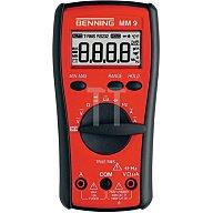 Multimetermm 9 Dig. 0,1mV-1000V m.Batterien BENNING 44078