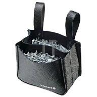 Nageltasche schwarz 120x150x75mm Rindleder PARAT 2 Fächer 5.990. 821.031