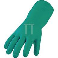 Asatex Nitril-Schutzhandschuh, EN388/374 Kat. III, Gr.9, grün, lebensmittelgeeignet 3450/9
