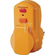 Brennenstuhl Personenschutzadapter IP44 230V 16A UNI-ELEKTRA m.Testfunktion 1290630