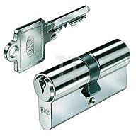 BKS Profil-Doppelzylinder PZ 8812 DIN 18252 Kl. P 2 L. A 65mm L. B 65mm Massiv Ms. B 8812 0077