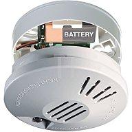Gutkes Rauchmelder-Funk FSR 4191 9V Batterie VdS weiss 004191A