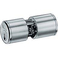 BKS Rundzylinder 3107 L. A 40mm L. B 29mm Massiv Mes.vern.Normalschließung B 3107 0265
