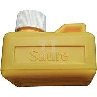 FELDER Salzsäurebehälter f. 125 ml Bodengröße 75x55 mm gelb 27121000