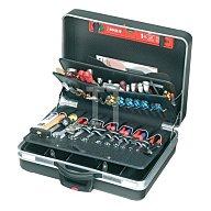 Schalenkoffer X-ABS 575x220x425mm Doppel-Alu.-Rahmen PARAT rollbar schwarz 489.600-171