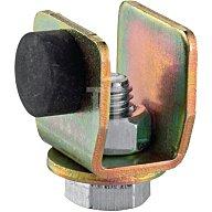 Woelm Schienenstopper 300 P f.Profil 300 galvanisch verzinkt Laufwegbegrenzung 30080