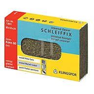 Schleiffix K.240 fein 80x50x20mm z.Reinigen KLINGSPOR u.Polieren 13803