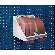 Schleifpapierrollenhalter f.Rollenbreite max.120mm für Lochplatten Bott 14022040.16V
