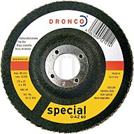 Dronco Schleifscheibe G-AZ 40 BOMB 125x22mm SPECIAL 5212304-100