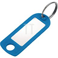 Tuetemann Schlüsselanhänger 8033 STV/200 mit Aufhängeöse und Ring farbig sortiert