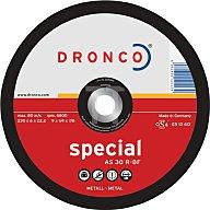 Dronco Schruppscheibe AS30R Special 230x6,0x22,23mm gekröpft 3236500