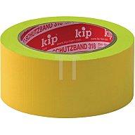 Kip Schutzband Länge 33m Breite 50mm gelb Weich-PVC-Folie 318-15