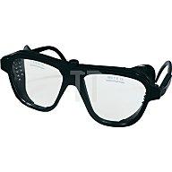 NORDWEST Schutzbrille klar Verbundglas splitterfrei schw. Glasgröße 62x52mm EN1836/EN166