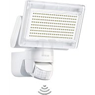STEINEL Leuchten Sensor LED-Strahler 198 LEDs 12W 720Lumen m. Bewegungsm. weiss 2695