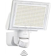 STEINEL Leuchten Sensor LED-Strahler 330 LEDs 18W 1426Lumen m. Bewegungsm. weiss 582210
