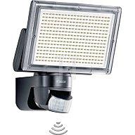 STEINEL Leuchten Sensor LED-Strahler 330LEDs 18W 1426Lumen m. Bewegungsm. schwarz 582111