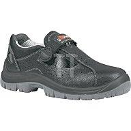 Sicherheits-Sandale EN ISO 20345 S1P SRC Alligator Gr. 43 Rindleder schwarz