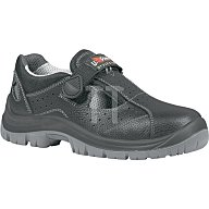 Sicherheits-Sandale EN ISO 20345 S1P SRC Alligator Gr. 44 Rindleder schwarz